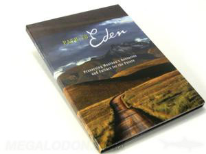 Uncoated Recycled Paper Matte DVD Packaging Eco